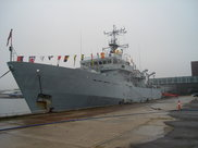HMS Roebuck. Crédit photo : Mission militaire
