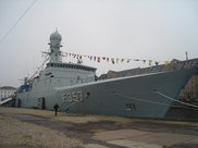 HDMS Thetis. Crédit photo : Mission miltaire